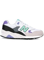 New Balance Logo Patched Running Sneakers White