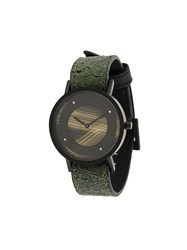 South Lane Avant Emerge Watch Calf Leather Stainless Steel Green