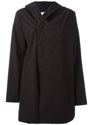 Stephan Schneider Hooded Jacket Women Cotton S Black