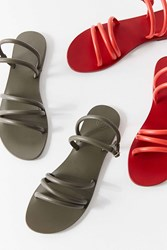 Urban Outfitters Taylor Tube Sandals Olive