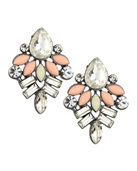 Amrita Singh Two Tone Marquis Cluster Earrings