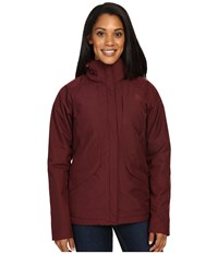 The North Face Inlux Insulated Jacket Deep Garnet Red Heather Women's Jacket