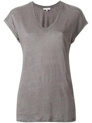 Iro V Neck T Shirt Nude Neutrals