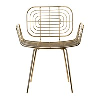 Pols Potten Boston Chair Gold