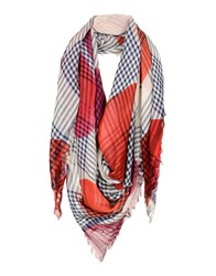 Scaglione City Scarves Red