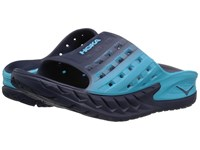 Hoka One One Ora Recovery Slide Medieval Blue Blue Atoll Women's Running Shoes Navy