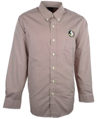 Antigua Men's Long Sleeve Florida State Seminoles Button Down Shirt