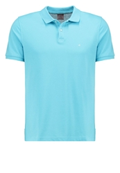 Ck Calvin Klein Pete Fitted Polo Shirt Blue Crystal Turquoise