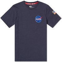 Alpha Industries Space Shuttle Tee Blue
