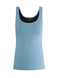 Jonathan Saunders Jacqui Bi Colour Knitted Cami