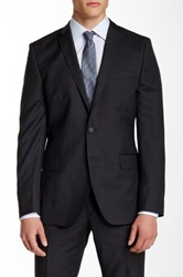 J. Lindeberg Mick Regular Fit Virgin Wool Jacket Gray