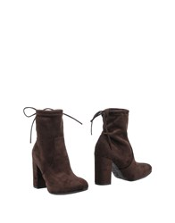 Le Stelle Ankle Boots Dark Brown