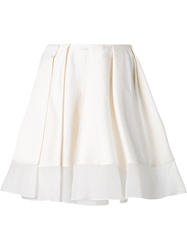 Viktor And Rolf Pleated Short Skirt