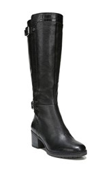 Naturalizer Women's Rozene Knee High Boot Black Leather