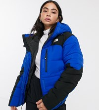 The North Face Himalayan Puffer Jacket In Blue