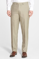 Linea Naturale 'Wear Now Work Now' Microfiber Trousers Tan