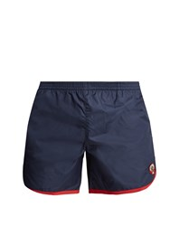 Robinson Les Bains Cambridge Long Swim Shorts Navy