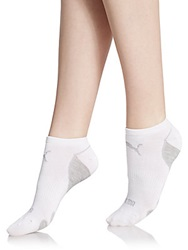 Puma Low Cut Socks 6 Pack White Grey