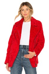 C Meo Collective World Tour Coat Red