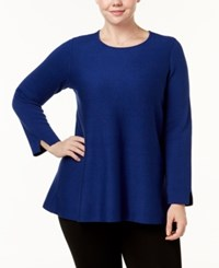 Alfani Plus Size Tunic Sweater Created For Macy's Andromeda