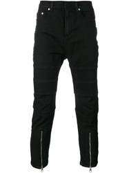 Neil Barrett Zip Detail Jeans