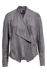 Kut From The Kloth Tayanita Faux Suede Jacket Grey