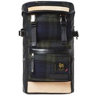 Master Piece Density Wool Backpack Blue