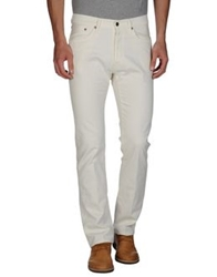 People Casual Pants Ivory
