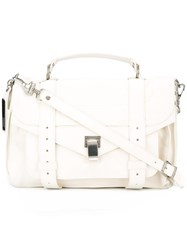 Proenza Schouler Tiny Ps1 Satchel White