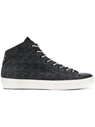 Leather Crown W 133 Sneakers Black