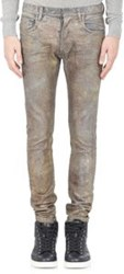 Faith Connexion Glitter Finished Slim Fit Jeans Multi