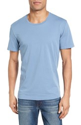 Velvet By Graham And Spencer Men's 'Howard' Crewneck T Shirt Chambray