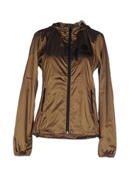 Franklin And Marshall Coats And Jackets Jackets Women Brown