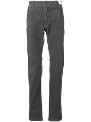 Closed Straight Leg Trousers Grey
