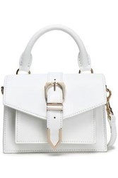 Versus By Versace Leather Shoulder Bag White