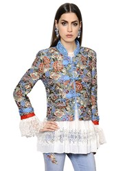 Ermanno Scervino Embroidered Tapestry Jacket