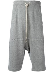 Lost And Found Rooms Drawstring Shorts Grey
