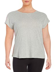 Marc New York Draped Back Athletic Top Grey