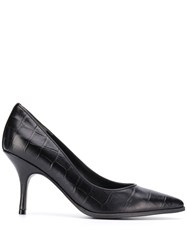 Kennel Schmenger And Pointed Toe Stiletto Pumps Black