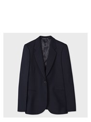 Paul Smith A Suit To Travel In Women's Navy Two Button Wool Blazer Blue