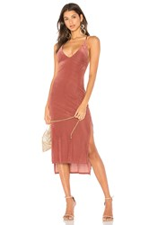 Privacy Please X Revolve Lotus Dress Rose