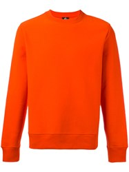 Paul Smith Ps By Crew Neck Sweatshirt Red