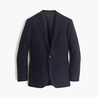 J.Crew Ludlow Sportcoat In English Tweed Deep Navy