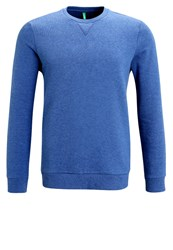 United Colors Of Benetton Sweatshirt Blue Royal Blue