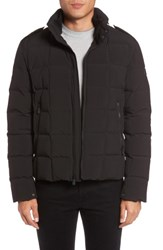 Tumi Men's Box Quilted Jacket Black
