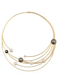 Sharra Pagano Milano Faux Pearl Necklace