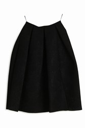 Erdem Bonded Lace Skirt Black