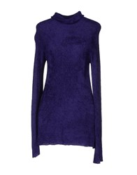 Scooterplus Knitwear Turtlenecks Women Purple