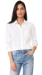 Frank And Eileen Barry Button Down Shirt White