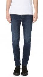 The Kooples Slim Fit Denim Jeans Dark Blue